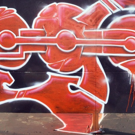 red-graffiti