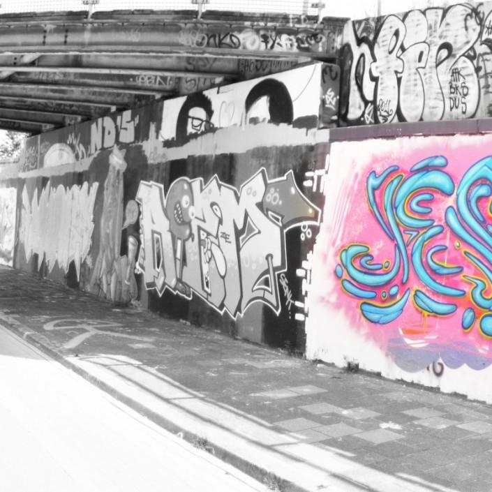 Jesus graffiti Delft