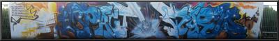 Graffiti opwekking festival 2009 - Biddinghuizen By Bams, Rhyse, Tiefoo & Me